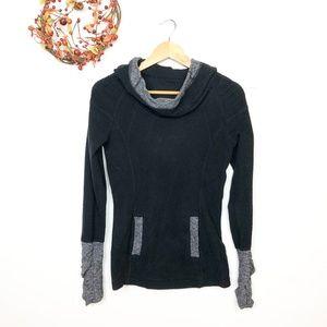 Lululemon Apres Run Fleece Pullover Black 4